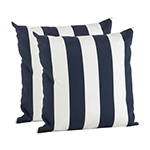 1903 striped pillow cover