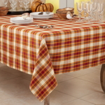 1910 Plaid Tablecloth
