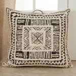 193 Printed + Tufted Floor Pillow