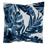 1931 Blue Tropic Outdoor Pillow