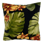 1933 Tropical Leaf Outdoor Pillow