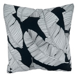 1934 Sketch Leaf Outdoor Pillow