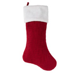 2050 sherpa border holiday stocking