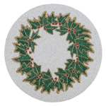 2218 Beaded Holly Placemat