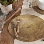 2302 Wood Print Placemat