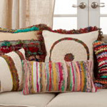 2341 Boho Stripe Pillow