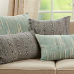 2813 Striped Woven Pillow