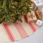 3011 Banded Design Tree Skirt