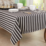 306 Striped Tablecloth