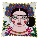 3141 frida kahlo pillow