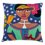 3142 frida kahlo pillow