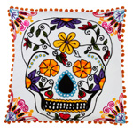 3144 sugar skull pillow