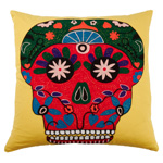 3145 sugar skull pillow