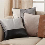 3401 Two-Tone Velvet Pillow