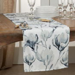 4667 Watercolor Floral Runner