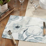4668 Watercolor Floral Placemat