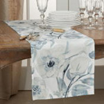 4668 Watercolor Floral Runner