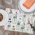 536 Flowers + Vases Placemat