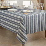 5618 Striped Tablecloth