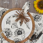 581 Sunflower Napkin