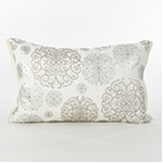 5881 beaded design pillow