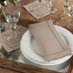 6308 Dinner Napkin With Hemstitch Border