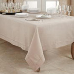 6308 Tablecloth With Hemstitched Border