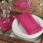 6313 Dinner Napkin With Hemstitch Border