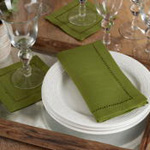 6315 Dinner Napkin With Hemstitch Border