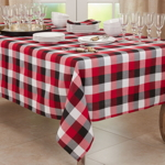 6355 Plaid Tablecloth