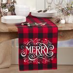 6627 Buffalo Plaid Merry Runner
