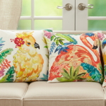 679 Parakeet Pillow