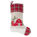 7753 holiday barn stocking