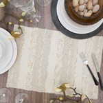 838 Fringe Stripe Placemat