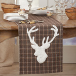 8900 Plaid Reindeer Runner