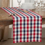 9023 Gingham Check Runner