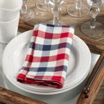 9023 Gingham Check Napkin