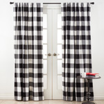 9025 buffalo plaid curtain