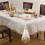926G Embroidery & Cutwork Tablecloth
