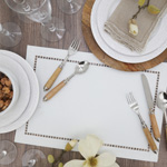 9738 Laser-Cut Hemstitch Placemat