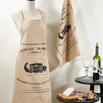 501 printed design apron
