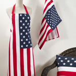5010 us flag apron