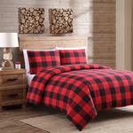 9025 Buffalo Plaid Duvet Cover Set