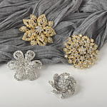 BP407 jeweled brooch