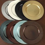 CH121 pleated charger plates