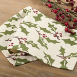 60110 holly design napkins