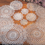 240 tatting doilies