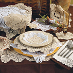 869 Crochet Lace Placemat