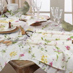 1015 Watercolor Floral Stems Runner