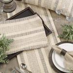 1024 Striped Woven Runner